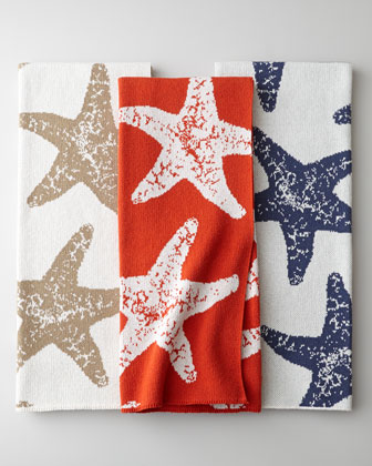 Sea star throw