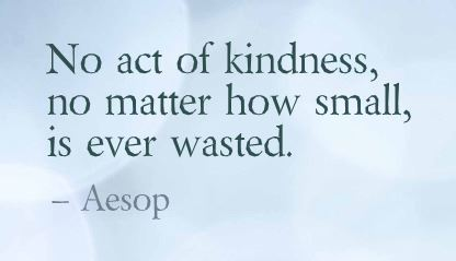 Act kindness